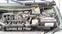 1999 Nissan Quest GXE 3.3L V6 Air Filter (Engine)