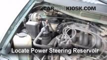 1999 Nissan Quest GXE 3.3L V6 Power Steering Fluid