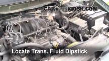 1999 Nissan Quest GXE 3.3L V6 Transmission Fluid
