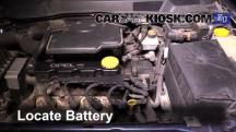 1999 Opel Astra Elegance 1.6L 4 Cyl. Battery