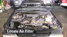 1999 Subaru Impreza Outback 2.2L 4 Cyl. Air Filter (Engine)