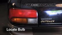 1999 Subaru Impreza Outback 2.2L 4 Cyl. Lights