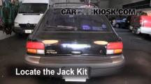 1999 Subaru Impreza Outback 2.2L 4 Cyl. Jack Up Car