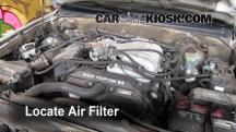 1999 Toyota 4Runner Limited 3.4L V6 Filtro de aire (motor)
