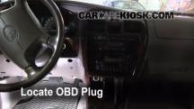 1999 Toyota 4Runner Limited 3.4L V6 Compruebe la luz del motor