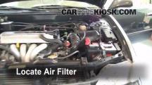 1999 Toyota Corolla CE 1.8L 4 Cyl. Filtro de aire (motor)