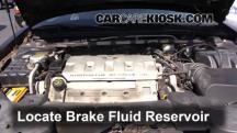 2000 Cadillac Eldorado ESC 4.6L V8 Brake Fluid