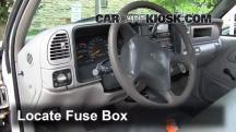 2000 Chevrolet K3500 6.5L V8 Turbo Diesel Cab and Chassis Fuse (Interior)