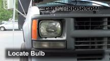 2000 Chevrolet K3500 6.5L V8 Turbo Diesel Cab and Chassis Lights