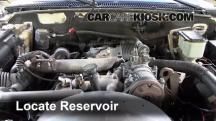 2000 Chevrolet K3500 6.5L V8 Turbo Diesel Cab and Chassis Líquido limpiaparabrisas