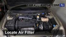 2000 Daewoo Nubira SE 2.0L 4 Cyl. Filtro de aire (motor)
