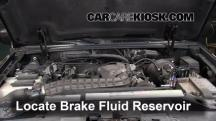 2000 Ford Explorer XLS 4.0L V6 Brake Fluid