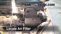 2000 Ford Focus SE 2.0L 4 Cyl. Sedan Filtro de aire (motor)