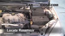 2000 Ford Focus SE 2.0L 4 Cyl. Sedan Windshield Washer Fluid