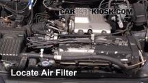 2000 Honda CR-V EX 2.0L 4 Cyl. Filtro de aire (motor)