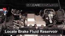 2000 Honda CR-V EX 2.0L 4 Cyl. Brake Fluid
