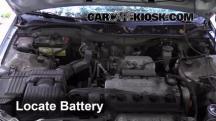 2000 Honda Civic EX 1.6L 4 Cyl. Coupe (2 Door) Battery