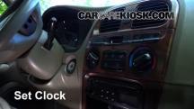2000 Hyundai Sonata GLS 2.5L V6 Clock