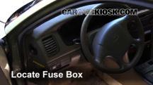 2000 Hyundai Sonata GLS 2.5L V6 Fusible (interior)