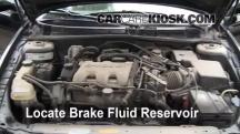 2000 Oldsmobile Alero GL 3.4L V6 Sedan (4 Door) Brake Fluid