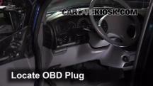 2000 Plymouth Voyager 3.3L V6 Compruebe la luz del motor