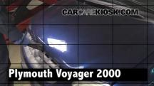 2000 Plymouth Voyager 3.3L V6 Review