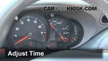 2000 Porsche 911 Carrera 4 3.4L 6 Cyl. Convertible Clock