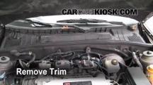 2000 Saturn LS2 3.0L V6 Filtro de aire (interior)