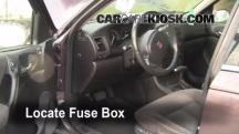 2000 Saturn LS2 3.0L V6 Fusible (interior)