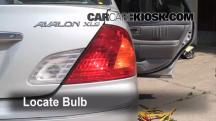 2000 Toyota Avalon XLS 3.0L V6 Luces