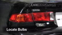 2000 Toyota Camry CE 2.2L 4 Cyl. Lights