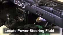 2000 Toyota MR2 Spyder 1.8L 4 Cyl. Power Steering Fluid