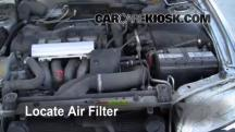 2000 Volvo V40 1.9L 4 Cyl. Turbo Air Filter (Engine)