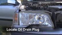 2000 Volvo V40 1.9L 4 Cyl. Turbo Aceite