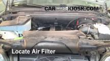 2001 BMW X5 3.0i 3.0L 6 Cyl. Filtro de aire (interior)