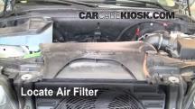 2001 BMW X5 3.0i 3.0L 6 Cyl. Filtro de aire (motor)