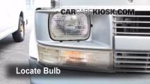 2001 Chevrolet Astro 4.3L V6 Extended Cargo Van Luces