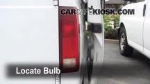 2001 Chevrolet Astro 4.3L V6 Extended Cargo Van Lights