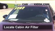 2001 Chevrolet Monte Carlo LS 3.4L V6 Air Filter (Cabin)