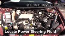 2001 Chevrolet Monte Carlo LS 3.4L V6 Power Steering Fluid