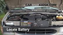 2001 Ford E-150 Econoline Club Wagon XLT 5.4L V8 Battery