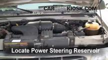 2001 Ford E-150 Econoline Club Wagon XLT 5.4L V8 Power Steering Fluid