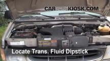 2001 Ford E-150 Econoline Club Wagon XLT 5.4L V8 Transmission Fluid