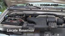 2001 Ford E-150 Econoline Club Wagon XLT 5.4L V8 Líquido limpiaparabrisas