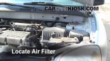 2001 Hyundai Santa Fe GL 2.4L 4 Cyl. Air Filter (Engine)