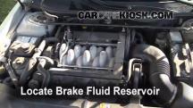 2001 Lincoln Continental 4.6L V8 Brake Fluid