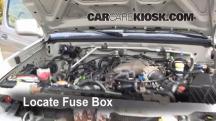 2001 Nissan Frontier SE 3.3L V6 Crew Cab Pickup (4 Door) Fuse (Engine)