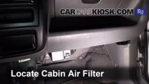 2001 Opel Agila Design 1.3L 3 Cyl. Air Filter (Cabin)