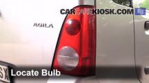 2001 Opel Agila Design 1.3L 3 Cyl. Lights