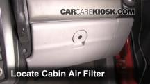 2001 Pontiac Aztek 3.4L V6 Air Filter (Cabin)